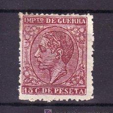 Sellos: ESPAÑA 188F SIN GOMA, FALSO POSTAL GRAUS Nº 148 TIPO UNICO, . Lote 19732717