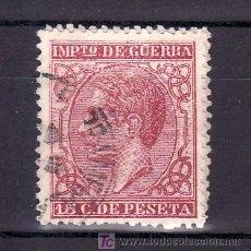 Sellos: ESPAÑA 188 USADA, MATASELLO FECHADOR, . Lote 15581935