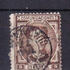 Sellos: ESPAÑA 174 USADA, MATASELLO FECHADOR, . Lote 15599054