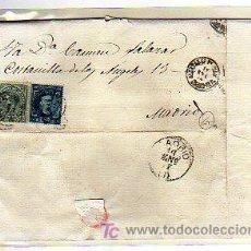 Sellos: IMPUESTO DE GUERRA. COMUNICACIONES. 10 CTS PESETA. ALCALDIA. ALCAZAR DE SAN JUAN CIUDAD REAL.. Lote 22136685