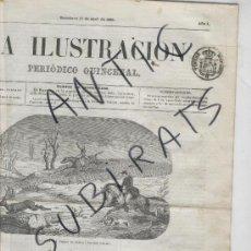 Sellos: TIMBRE DE PERIODICOS.CATALOGO ESPECIALIZA. EDIFIL P-2.LA ILUSTRACION.AÑO 1859.SELLOS.CLASICOS.ESPAÑA. Lote 24410596