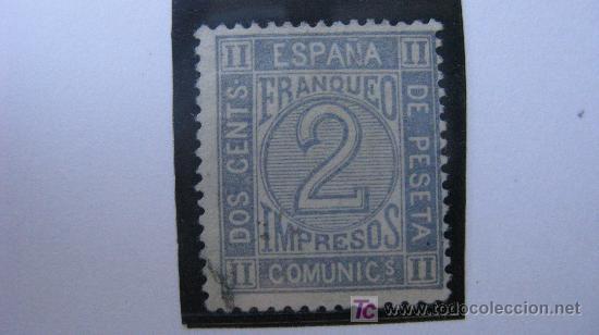 1872 CIFRAS EDIFIL 116 (Sellos - España - Otros Clásicos de 1.850 a 1.885 - Usados)
