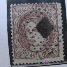Sellos: 1870 ALEGORIA DE ESPAÑA EDIFIL 109. Lote 27551780