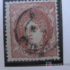 Sellos: 1870 ALEGORIA DE ESPAÑA EDIFIL 108. Lote 27551786