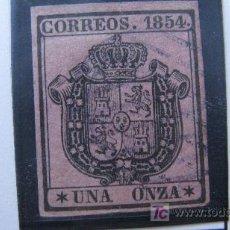 Sellos: 1854 ESCUDO DE ESPAÑA EDIFIL 29. Lote 26452115