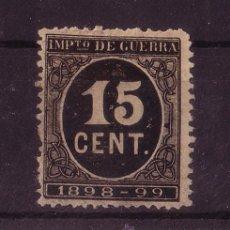 Sellos: ESPAÑA 238* - AÑO 1898 - IMPUESTO DE GUERRA. Lote 17456765