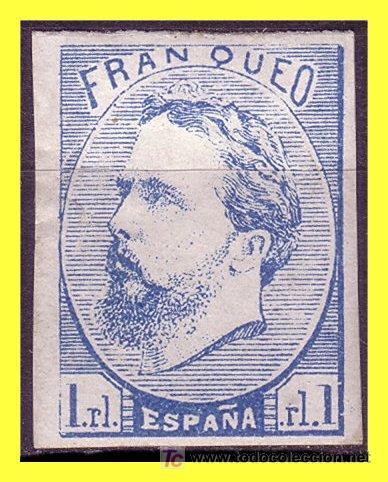 1873 CARLOS VII, Nº 156 (*) (Sellos - España - Otros Clásicos de 1.850 a 1.885 - Usados)