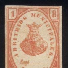 Sellos: * ARBITRIOS MUNICIPALES - BURGOS - HACIA 1800 (S.XIX) - CON FIJASELLOS - RARISIMA VIÑETA. Lote 26829860
