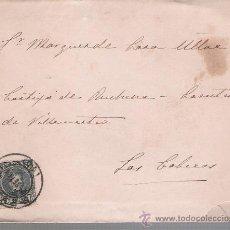 Sellos: CATA DE SEVILLA A LAS CABEZAS. DE 2 DE SEPTIEMBRE DE 1901. FRANQUEADO CON SELLO 244.. Lote 27422124