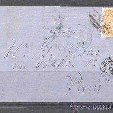 Sellos: 1867.-BARCELONA A PARIS. Lote 31778502