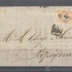 Sellos: 1873.- BARCELONA A LYON (FRANCIA). Lote 31778706
