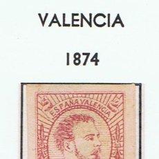 Sellos: CORREO CARLISTA 1874 EDIFIL 159 VALOR 2012 CATALOGO 180 EUROS . Lote 34259128