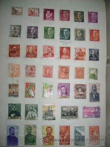 88- SELLOS DE ESPAÑA ANTIGÜOS (Sellos - España - Otros Clásicos de 1.850 a 1.885 - Usados)