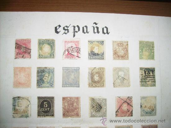 Sellos: 88- SELLOS DE ESPAÑA antigüos - Foto 3 - 35530389