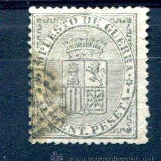 Sellos: EDIFIL 141. 5 CTS IMPUESTO DE GUERRA. AÑO 1874. MATASELLADO.. Lote 35773050