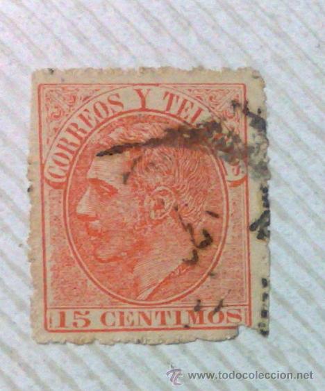 Sellos: CIRCA 1878-1940.- HOJA CON COLECCIÓN DE 37 SELLOS DE LA ÉPOCA. - Foto 21 - 36003019