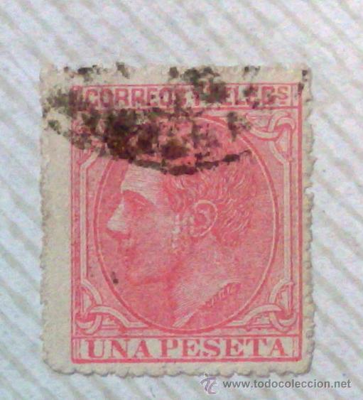 Sellos: CIRCA 1878-1940.- HOJA CON COLECCIÓN DE 37 SELLOS DE LA ÉPOCA. - Foto 22 - 36003019