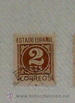 Sellos: CIRCA 1878-1940.- HOJA CON COLECCIÓN DE 37 SELLOS DE LA ÉPOCA. - Foto 27 - 36003019