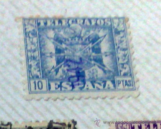 Sellos: CIRCA 1878-1940.- HOJA CON COLECCIÓN DE 37 SELLOS DE LA ÉPOCA. - Foto 5 - 36003019