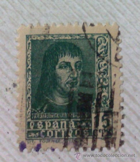Sellos: CIRCA 1878-1940.- HOJA CON COLECCIÓN DE 37 SELLOS DE LA ÉPOCA. - Foto 39 - 36003019