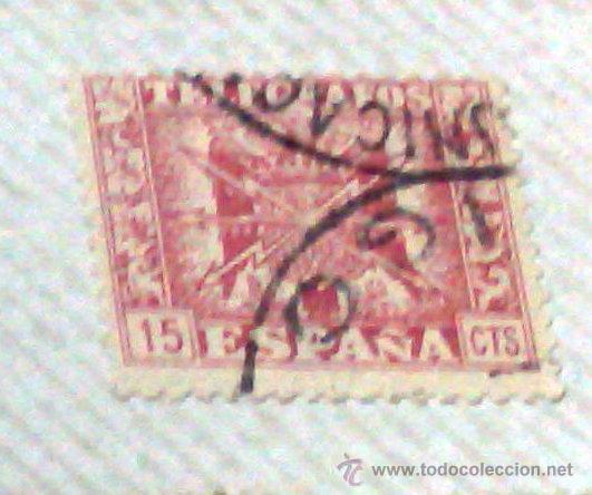 Sellos: CIRCA 1878-1940.- HOJA CON COLECCIÓN DE 37 SELLOS DE LA ÉPOCA. - Foto 6 - 36003019