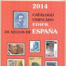 Sellos: CATALOGO EDIFIL DE SELLOS DE ESPAÑA AÑO 2014. Lote 38888935
