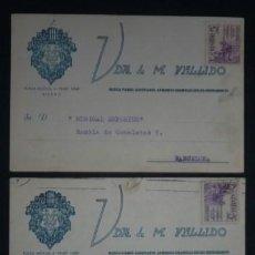 Sellos: ENTEROS COMERCIALES 1950 ED 1062 PRO VÍCTIMAS DE LA GUERRA (COPIAR). Lote 39890611