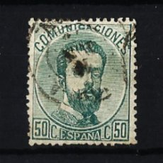 Sellos: 1872 AMADEO I EDIFIL 126(*) VALOR CATALOGO 14,50 EUROS. Lote 47371076