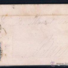 Sellos: 1870 MAHON (MENORCA) A BARCELONA. Lote 48401388