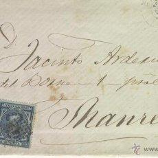 Sellos: CARTA MANUSCRITA MANUSCRITO EN LERIDA SOBRE SELLOS AÑO 1878 JACINTO ARDERIU MANRESA . Lote 48632032