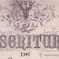 Sellos: CP-FISCALES PAPEL SELLADO 1895. ESCRITURA CARTA DE PAGO. GRANOLLERS. Lote 52227649
