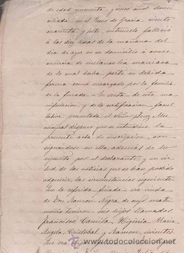 Sellos: CAR-MUS-6-6a- FISCAL Curioso documento de Certificado notarial DUPLICADO. VER DESCRIPCION - Foto 5 - 52958332