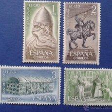 Sellos: 4 SELLOS, NUEVOS, ESPAÑA, AÑO 1962. Lote 54059796