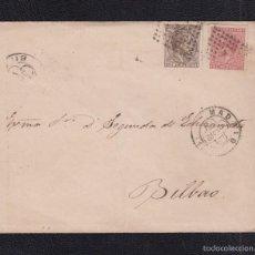 Sellos: 1878.- MADRID A BILBAO . Lote 56367605