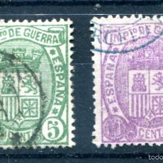 Sellos: EDIFIL 154/155. SERIE COMPLETA, ESCUDO DE ESPAÑA. USADOS.. Lote 57746207