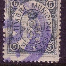 Sellos: ZZ11- FISCALES TIMBRE MUNICIPAL SEVILLA 5 PTAS . Lote 72710939