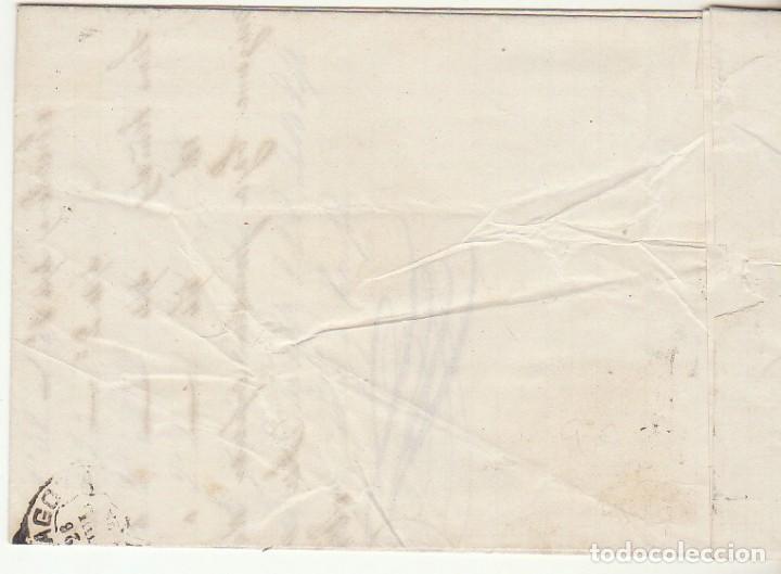 Sellos: G.P.: 107- BARCELONA a ZARAGOZA. 1871. - Foto 2 - 75197267