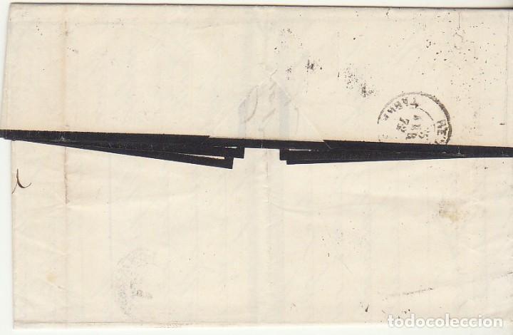 Sellos: G.P.: 107- BARCELONA a REUS. 1872. - Foto 2 - 75197599