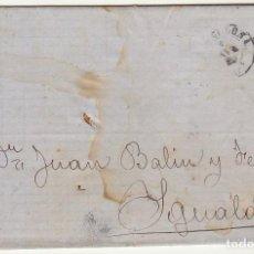 Sellos: SELLO 107 : BARCELONA A YGUALADA AÑO 1872.. Lote 75199143