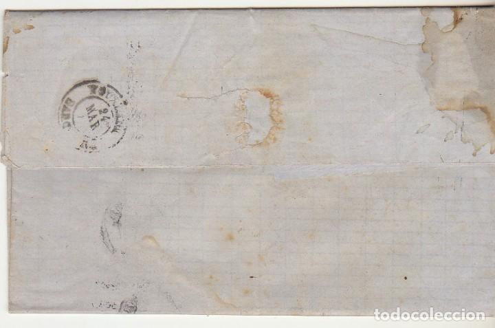 Sellos: Sello 107 : BARCELONA a YGUALADA año 1872. - Foto 2 - 75199143