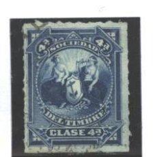Sellos: ESPAÑA 1875-76 - SOCIEDAD DEL TIMBRE CLASE 4ª - USADA. Lote 98412215