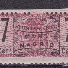 Sellos: AA13-FISCALES MUNICIPALES MADRID 7 CTS NUEVO* CON FIJASELLOS. Lote 105656007