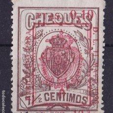 Sellos: CL2-28-FISCALES CHEQUES HABILITADO NUEVO . SIN GOMA. Lote 105936099