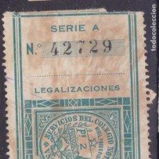 Sellos: CL2-29-FISCALES LEGALIZACIONES 2 PTAS COLEGIO NOTARIAL PAMPLONA. Lote 105937239