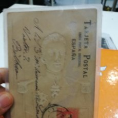 Sellos: TARJETA POSTAL ALFONSO XIII ¡DIFICILISIMA TARJETA DE S.M. EL REY ALFONSO XIII!CIRCULADA AÑO 1902 . Lote 108244443
