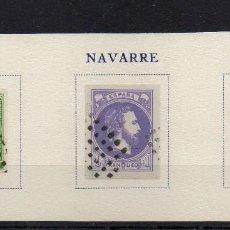 Sellos: SELLOS CARLISTAS NAVARRA 1874. FALSOS FOURNIER. Lote 109260939