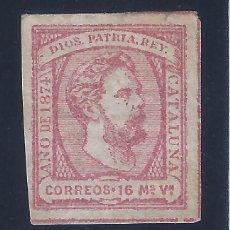 Sellos: EDIFIL 157 CORREO CARLISTA. CARLOS VII 1874. MNG.. Lote 131221204