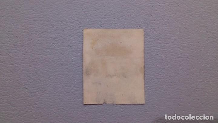 Sellos: ESPAÑA - 1874 - CARLOS VII - EDIFIL 158 - MATASELLOS ESTELLA - NAVARRA - VALOR CATALOGO 600€. - Foto 2 - 132940038