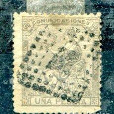 Sellos: EDIFIL 138. 1 PTA ALEGORÍA DE ESPAÑA. USADO.. Lote 136290641