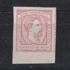 Sellos: 1874 EDIFIL 157** NUEVO SIN CHARNELA. CARLOS VII. Lote 144297034